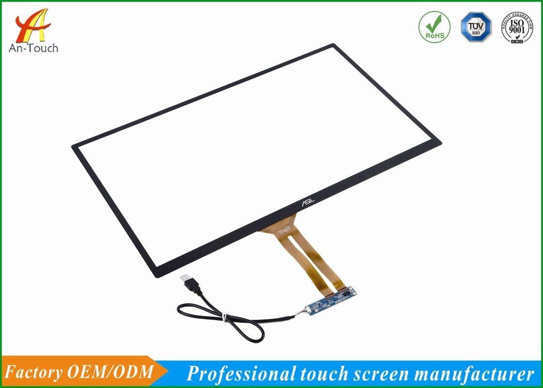 Integrated Kiosk Touch Screen 23.8 Inch Front Panel Intelligent Automatic Calibration